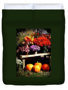 Autumn Market Duvet Cover