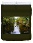 Autumn On Satus Creek  Duvet Cover