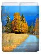 Autumn Perspective Duvet Cover