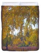Autumn Picnic Spot Duvet Cover