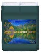 Autumn Reflected 2 Duvet Cover