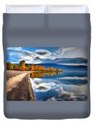 Autumn Reflections In October Duvet Cover