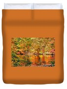 Autumn Reflections Duvet Cover