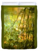 Autumn Reflections New Hampshire Duvet Cover