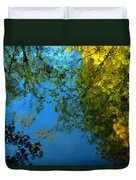 Autumn Reflections New Hampshire II Duvet Cover