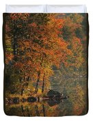 Autumn Scenic Duvet Cover