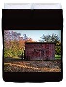 Autumn Shed Duvet Cover