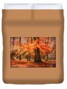 autumn skirt I Duvet Cover