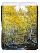 Autumn Stream II Duvet Cover