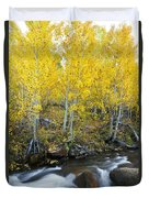 Autumn Stream Iv Duvet Cover