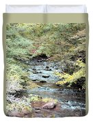 Autumn Streams Duvet Cover