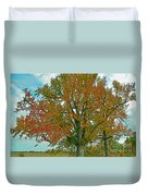 Autumn Sweetgum Tree Duvet Cover