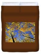 Autumn Treetops Duvet Cover