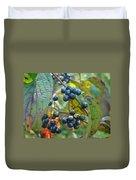 Autumn Viburnum Berries Series #2 Duvet Cover