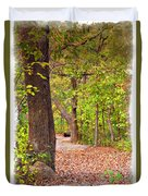 Autumn Walk - Impressions Duvet Cover