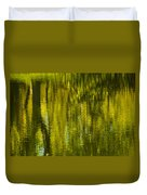 Autumn Water Reflection Abstract IIi Duvet Cover