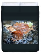 Autumn Waters Duvet Cover