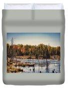 Autumn Wetland Duvet Cover