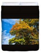 Autumnal Fruition Duvet Cover