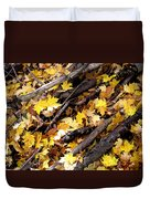 Autumnal Melody Duvet Cover
