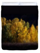 Autumn's Last Hurrah Duvet Cover