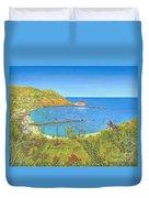 Avalon Catalina Island Duvet Cover