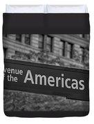 Avenue Of The Americas Duvet Cover