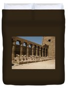 Avenue Of The Sphinx Duvet Cover