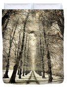 Avenue Of Trees Duvet Cover