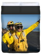 Aviation Boatswain Mates Direct An Duvet Cover