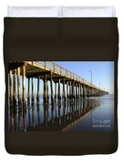 Avila Beach Pier California 2 Duvet Cover