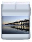 Avila Beach Pier California 3 Duvet Cover