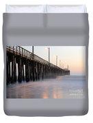 Avila Beach Pier California 5 Duvet Cover