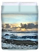 Awash In The Sea Duvet Cover