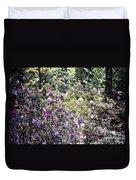 Azaleas In The Forest Duvet Cover