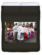 Azorean Folk Music Group Duvet Cover