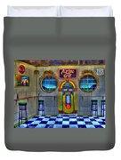 Aztec Grill Route 66 Duvet Cover