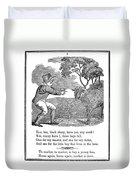 Baa, Baa, Black Sheep, 1833 Duvet Cover
