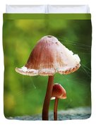 Baby And Parent Mushroom Duvet Cover