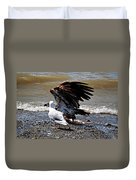 Baby Bald Eagle Movement Duvet Cover