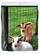 Baby Goats Duvet Cover