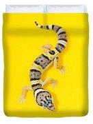 Baby Leopard Gecko Duvet Cover