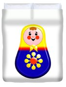 Baby Matrioshka Doll  Duvet Cover