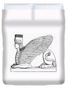 Babylonian Sphinx Duvet Cover