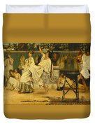 Bacchanal Duvet Cover by Sir Lawrence Alma-Tadema