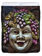 Bacchus God Of Wine Duvet Cover