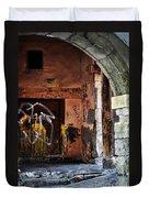 Back Alley In Leon Duvet Cover