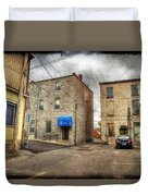 Back Alley Napanee Duvet Cover