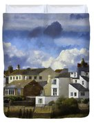 Back To Shoreham Duvet Cover