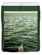 Back To The Sea Duvet Cover